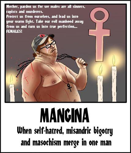 Define mangina