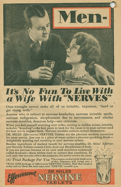 You gals may want to pay special attention to that delicate female    Vintage Valium Advertisements
