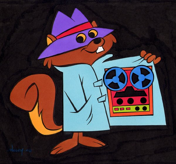 Secret Squirrel: Much better at this than MRAs