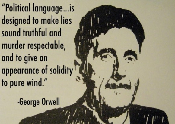 George Orwell, meet Warren Farrell