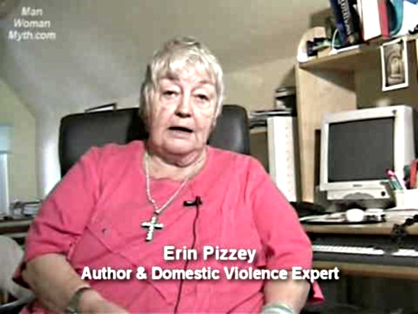 AVFM lifetime achievement award winner Erin Pizzey