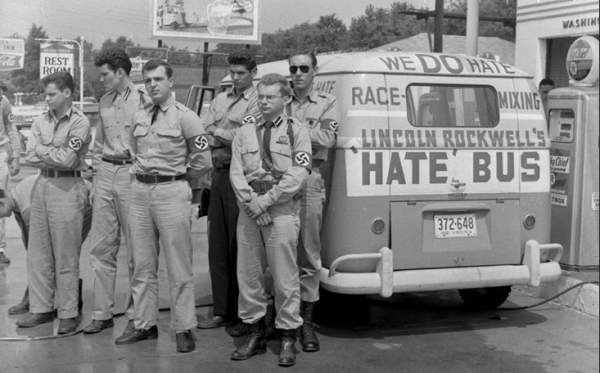 The Hate Bus, not to be confused with the Peace Train or the Joy Jitney.