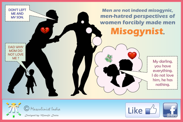 Feminists made me a misogynist: from Masculinist India