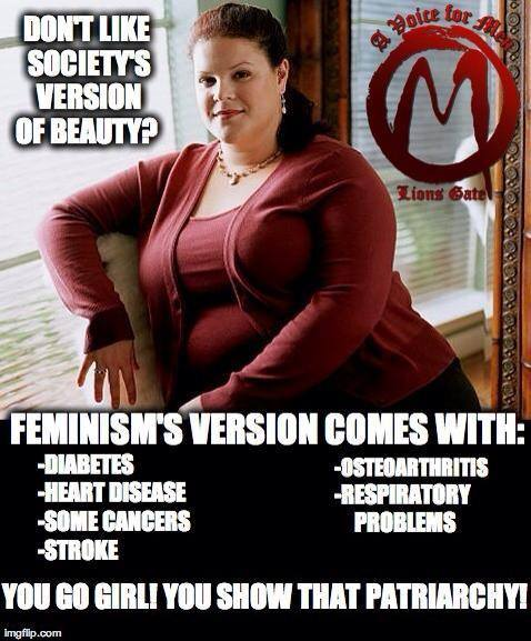 """""""No fat chicks"""" is apparently a very important Men's Rights issue"""