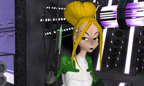 Screenshot from Revolution 60, the game with women in it that Brianna Wu already made