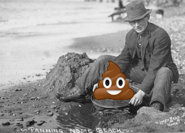 Panning for poop on 8chan