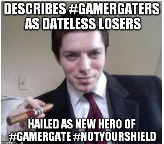 Actual unretouched photo of Mytheos Holt, #GamerGate's new champion
