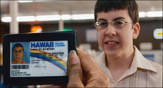 Are Dean Esmay and Jack Barnes of A Voice for Men following in the fake footsteps of Superbad's McLovin?