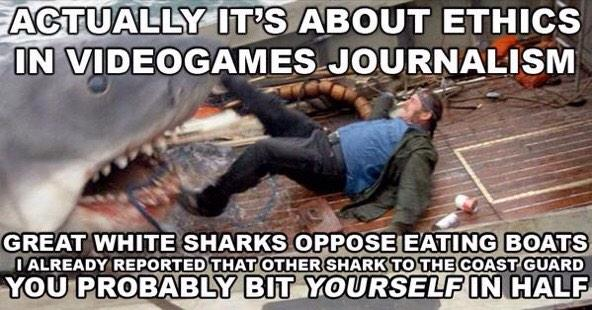 GamerGate logic, sharkified