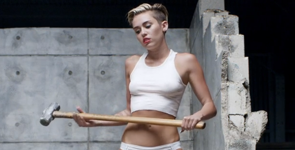 Miley Cyrus, destroying civilization