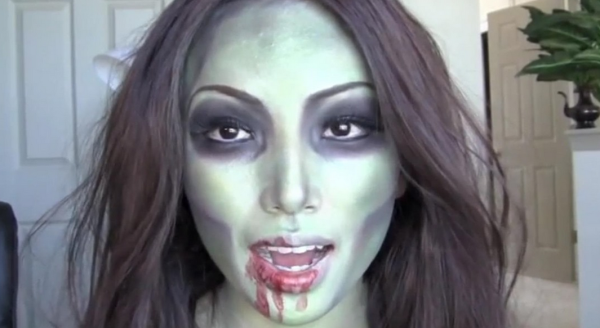 Some women use makeup to try to disguise the fact that they are zombies