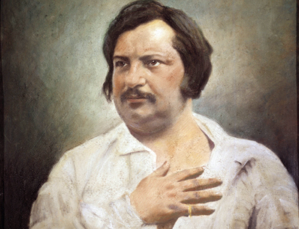 "Honoré de Balzac. Look, it was either this dumb pun or a picture of a scrotum, and frankly, you don't want to see what I saw when I did a Google image search for ""scrotum."""