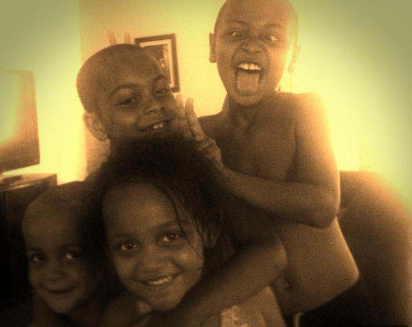 Four of the murdered children