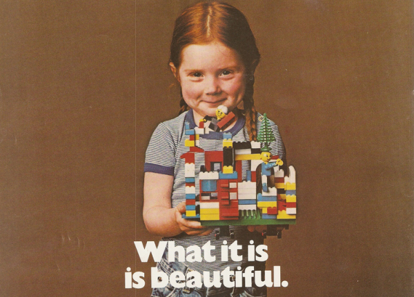 Legos for girls: Not a new idea (from a lego ad in the 1980s)