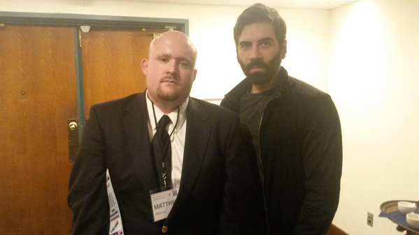Genetically superior Matt Forney and Roosh V at the NPI conference